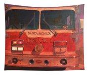 Santa Monica Truck One Tapestry