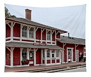Santa Paula Station Tapestry