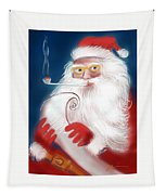 Santa's List Tapestry