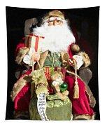 Santa's List Two Tapestry