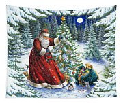 Santa's Little Helpers Tapestry