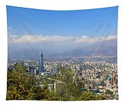 Santiago  Chile Tapestry