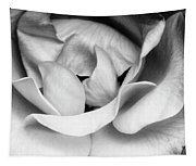 Sapphire Rose Bw Palm Springs Tapestry