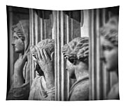 Sarcophagus Of The Crying Women II Tapestry