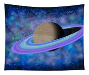 Saturn Journey Tapestry