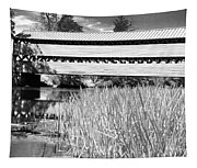 Saucks Bridge And Reeds Tapestry