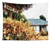 Save Me Tapestry