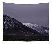 Sawtooth Mountain At Night Tapestry