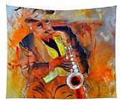 Saxplayer 88 Tapestry