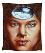 Scale Head Tapestry