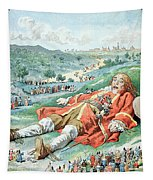 Scene From Gullivers Travels Tapestry