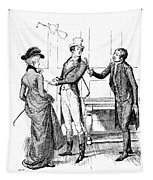 Scene From Pride And Prejudice By Jane Austen Tapestry