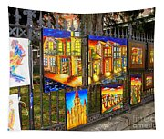 Scenes Of Nola Tapestry