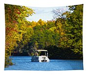 Scenic Autumn Viewing Tapestry