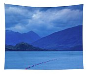 Scenic View Of A Lake At Dusk, Lake Tapestry
