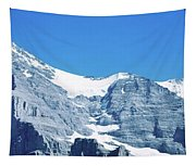 Scenic View Of Eiger And Monch Mountain Tapestry