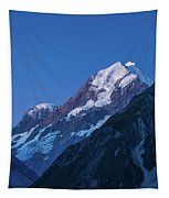 Scenic View Of Mountain At Dusk Tapestry