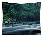 Scenic View Of Waterfall, Teesdale Tapestry