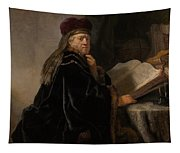 Scholar At His Study Tapestry