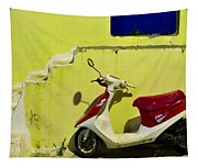 Scooter Tapestry