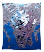 Screaming Reflection Tapestry