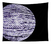 Screen Orb-15 Tapestry