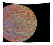 Screen Orb-17 Tapestry