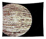 Screen Orb-19 Tapestry