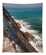 Sea And Cliff Tapestry