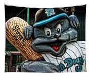 Sea Dogs Mascot Tapestry
