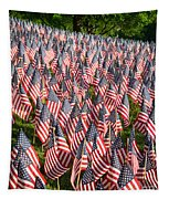 Sea Of Flags Tapestry