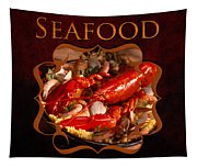 Seafood Gallery Tapestry