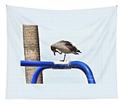 Seagull Balancing Act Tapestry