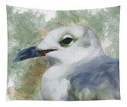 Seagull Closeup Tapestry