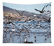 Seagulls Seagulls And More Seagulls Tapestry
