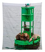 Seal Nap Time Tapestry