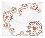Seamless Retro Pattern Tapestry