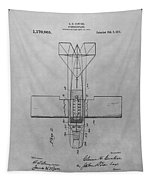 Seaplane Patent Drawing Tapestry