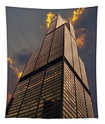 Sears Willis Tower Tapestry