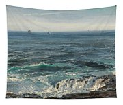 Seascape 1877 Tapestry