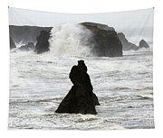 Seascape Bandon Oregon 1 Tapestry