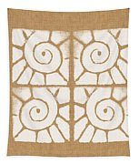 Seashell Tiles Tapestry