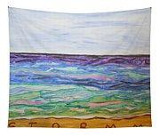 Sunny Seashore  Tapestry