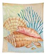 Seaside Dream-b Tapestry by Jean Plout