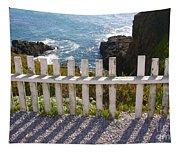 Seaside Fence Tapestry