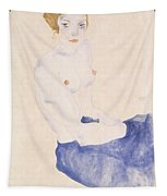 Seated Blue Nude, 1911 Tapestry