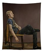 Seated Man Tapestry