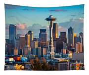 Seattle Afternoon Tapestry