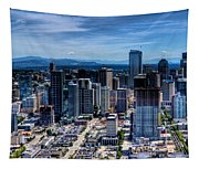 Seattle City Tapestry
