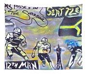 Seattle Seahawks 3 Tapestry